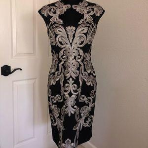 Sue Wong Runway open back  Sample Dress